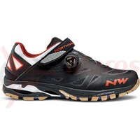 Pantofi Northwave All Terra Spider Plus 2 negru/alb/orange