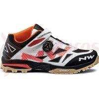 Pantofi Northwave All Terrain Enduro Mid alb/orange