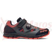 Pantofi Northwave All Terrain Terrea Plus WMN damă, antracit/portocaliu rac