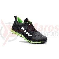 Pantofi Northwave City Podium 2 negru/galben fluo