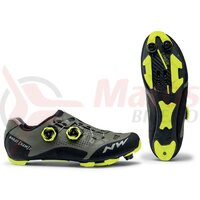 Pantofi Northwave MTB Ghost XCM 2 forest/yellow fluo