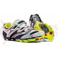 Pantofi Northwave MTB Katana 3S alb/negru/galben fluo