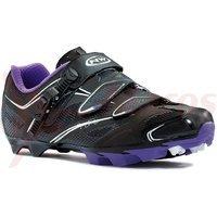 Pantofi Northwave MTB Katana 3S negru/alb/roz