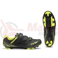 Pantofi Northwave MTB Origin negru/galben fluo