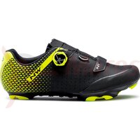 Pantofi Northwave MTB Origin Plus Black/Yelllow fluo