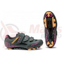 Pantofi Northwave MTB Origin WMN dama negru/fucsia/orange