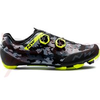 Pantofi Northwave MTB Rebel 2 camo Black/Yellow Fluo