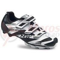 Pantofi Northwave MTB Scorpius 2 3S alb/negru