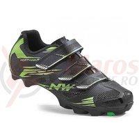 Pantofi Northwave MTB Scorpius 2 3S negru/verde