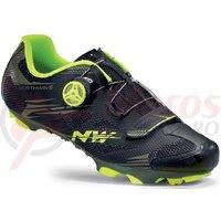 Pantofi Northwave MTB Scorpius 2 Plus negru/galben fluo