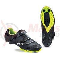 Pantofi Northwave MTB Scorpius 2SRS negru/galben