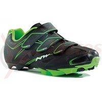 Pantofi Northwave MTB Scorpius 3S negru/verde