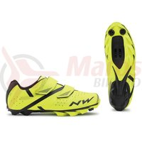 Pantofi Northwave MTB Spike 2 galben fluo/negru