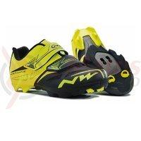 Pantofi Northwave MTB Spike Evo galben fluo/negru