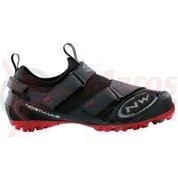 Pantofi Northwave Multi-App Winter negru/rosu