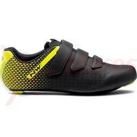 Pantofi Northwave Road Core 2 3S Black/Yellow
