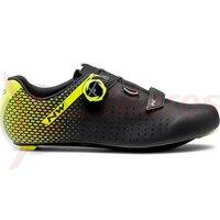 Pantofi Northwave Road Core Plus 2 Black/Yellow