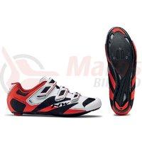 Pantofi Northwave Road Sonic 2 3S alb/negru/rosu