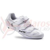 Pantofi Northwave Road Sonic 2 3S albi