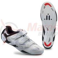 Pantofi Northwave Road Sonic 2 3S albi/negru