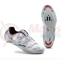 Pantofi Northwave Road Sonic 2 Plus alb/argintiu