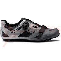 Pantofi Northwave Road Storm Carbon Anthracite/Silver reflective