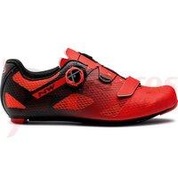 Pantofi Northwave Road Storm Carbon Red/Black