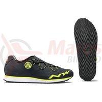 Pantofi Northwave Street Podium R negru/galben fluo
