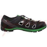Pantofi Shimano SH-CT46LG negru/verde