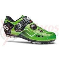 Pantofi Sidi Cape MTB verde fluo