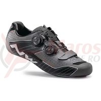 Pantofi sosea Northwave Extreme negru reflectorizant