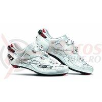 Pantofi sosea Sidi Shot Carbon alb/alb