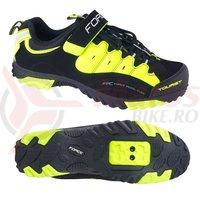 Pantofi Tourist Force negru/fluo marimea 45