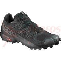 Pantofi trail Salomon SPEEDCROSS 5 WIDE Negru
