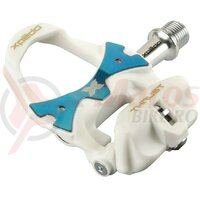 Pedala  Xpedo Clipless THRUST 8 TEAM white/blue, 9/16