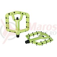 Pedale Xpedo TRIDENT limegreen, 9/16