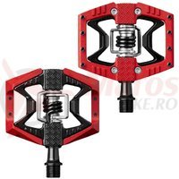 Pedale Crank Brothers Doubleshot 3 rosii