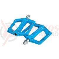 Pedale Cube flat Race albastre