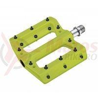 Pedale Cube HPP Flat verzi