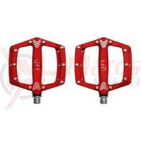 Pedale Cube RFR Flat SL rosii