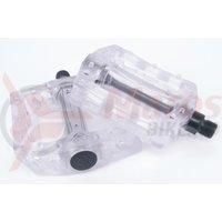 Pedale Eclat Surge plastic 9/16 transparent
