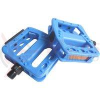 Pedale Longus BMX/MTB plastic albastre