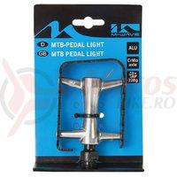 Pedale M-Wave MTB light/rulmenti
