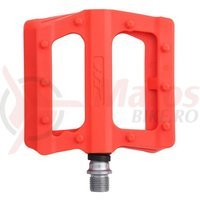 Pedale plastic cu rulmenti HT-PA 12 orange