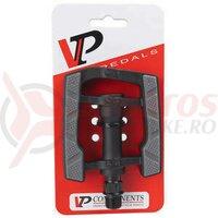 Pedale plastic VP Non Slip negru