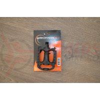 Pedale PVC trekking/urban/city cu coronita ax 14mm Krypton-X