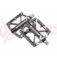 Pedale ROCKBROS MTB platforma pentru Road, MTB, BMX aluminiu, negru