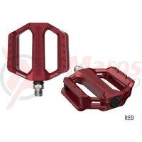 Pedale Shimano PD-EF202, fara catadioptrii, red