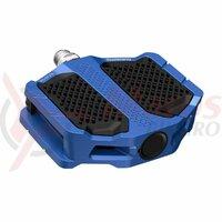 Pedale Shimano PD-EF205, fara catadioptrii, Blue