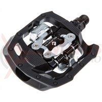 Pedale Shimano PD-MT50 Click-R cu placute SM-SH56 negre